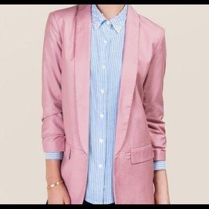 Miami brand blazer (pink)